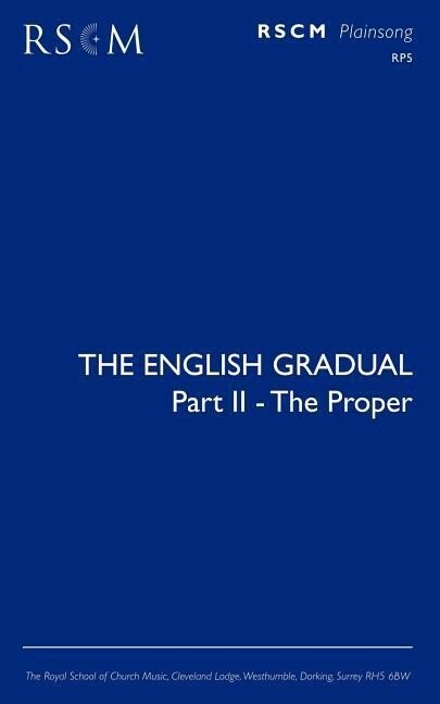 The English Gradual Part 2 - The Proper als Taschenbuch