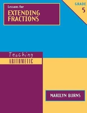 Lessons for Extending Fractions, Grade 5 [With Workbook] als Taschenbuch