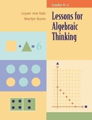 Lessons for Algebraic Thinking, Grade K-2 als Taschenbuch