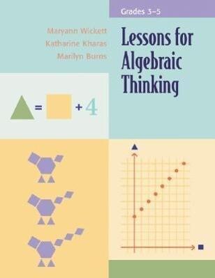 Lessons for Algebraic Thinking, Grades 3-5 als Taschenbuch