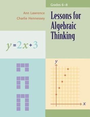 Lessons for Algebraic Thinking, Grades 6-8 als Taschenbuch