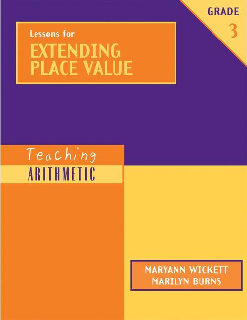 Lessons for Extending Place Value, Grade 3 als Taschenbuch
