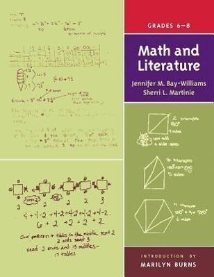 Math and Literature, Grades 6-8 als Taschenbuch