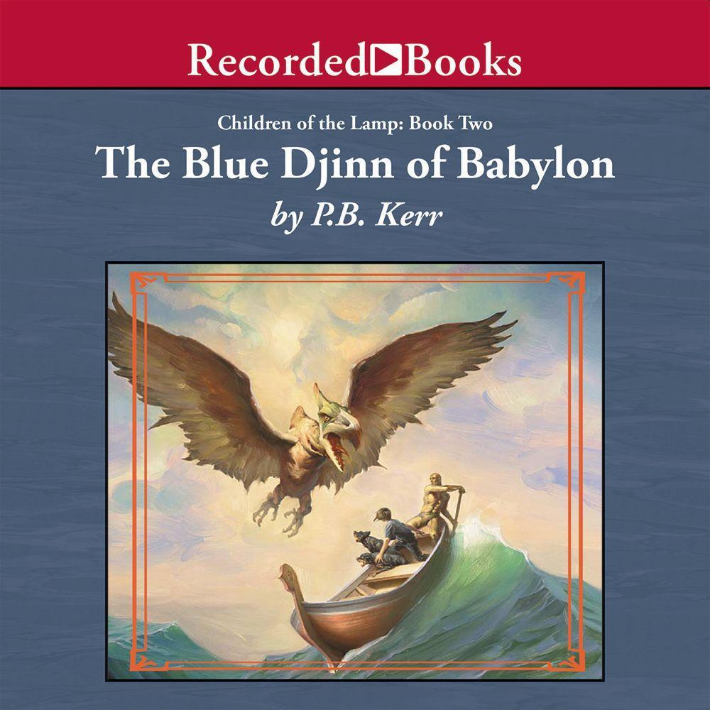 The Blue Djinn of Babylon als Hörbuch
