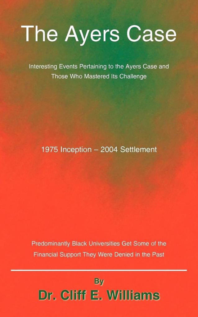 The Ayers Case als Taschenbuch