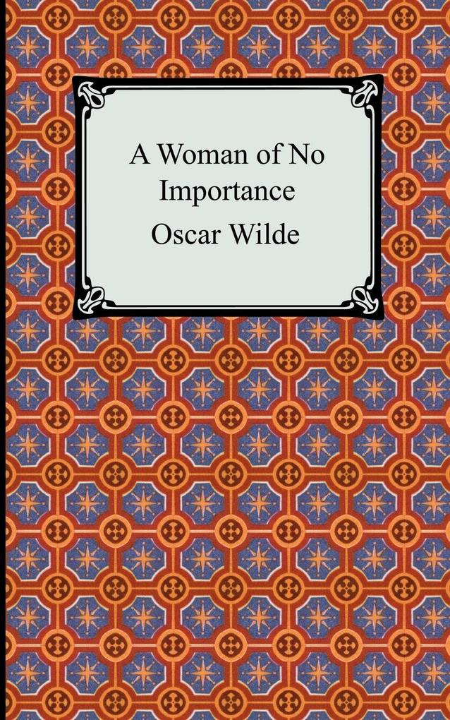 A Woman of No Importance als Buch