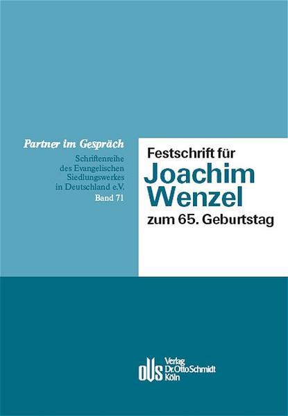 Festschrift für Joachim Wenzel zum 65. Geburtstag als Buch
