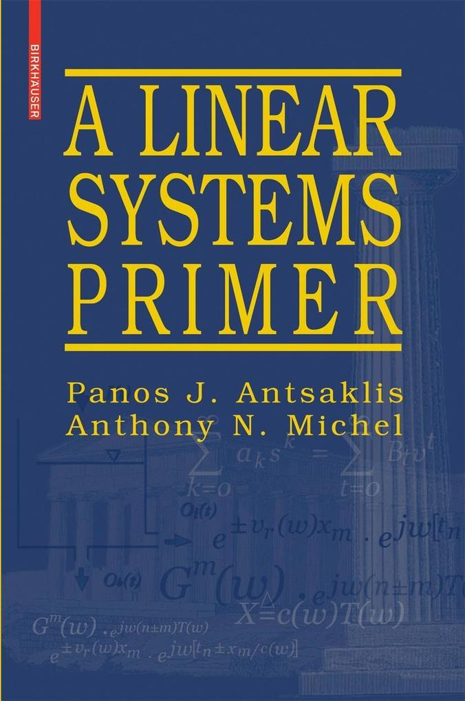 A Linear Systems Primer als Buch
