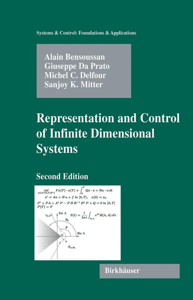 Representation and Control of Infinite-Dimensional Systems als Buch