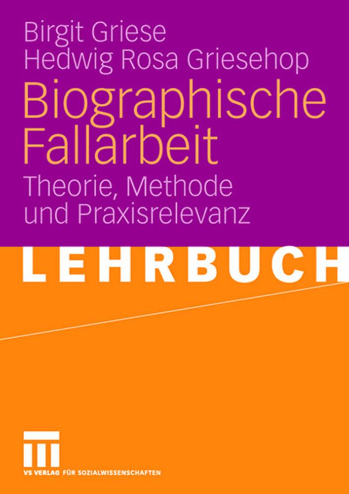 Biographische Fallarbeit als Buch