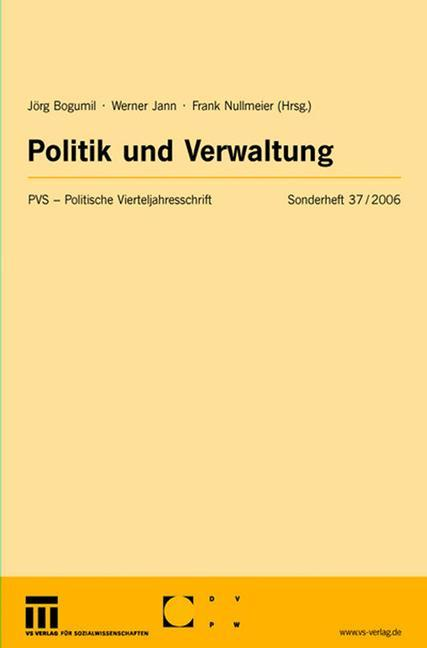 Politik und Verwaltung als Buch