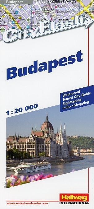 Budapest 1 : 20 000. City Flash als Buch von