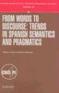 From Words to Discourse als Buch