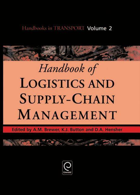 Handbook of Logistics and Supply-Chain Management als Buch