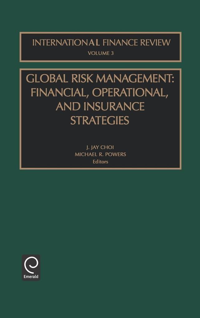 Global Risk Management Ifr3 H als Buch