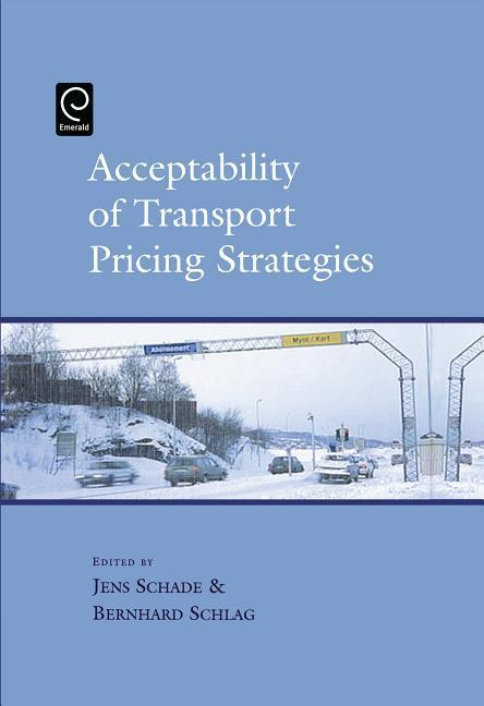Acceptability of Transport Pricing Strategies als Buch