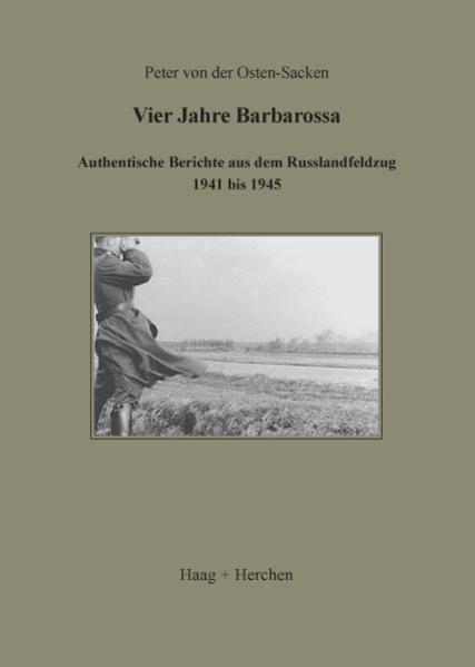 Vier Jahre Barbarossa als Buch
