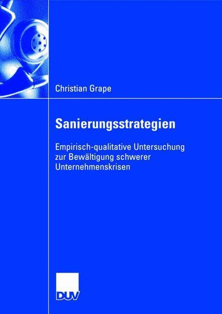 Sanierungsstrategien als Buch