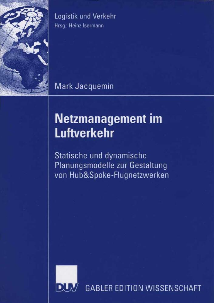 Netzmanagement im Luftverkehr als Buch