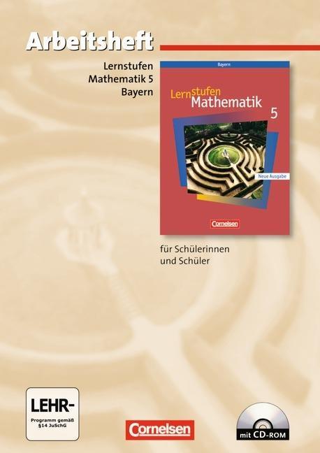 Lernstufen Mathematik 5. Arbeitsheft. Hauptschule Bayern. Neue Ausgabe als Buch