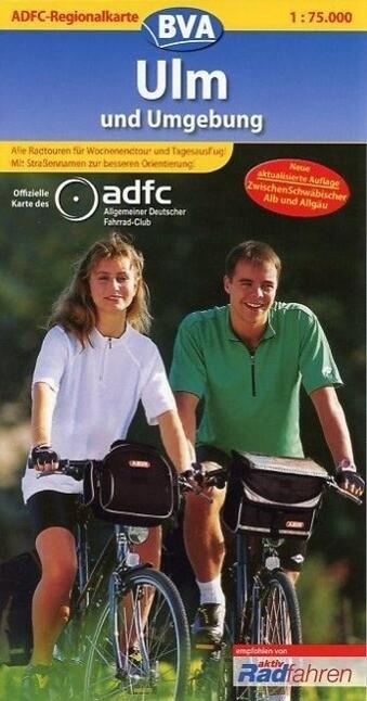 ADFC-Regionalkarte Ulm und Umgebung 1 . 75.000 als Buch