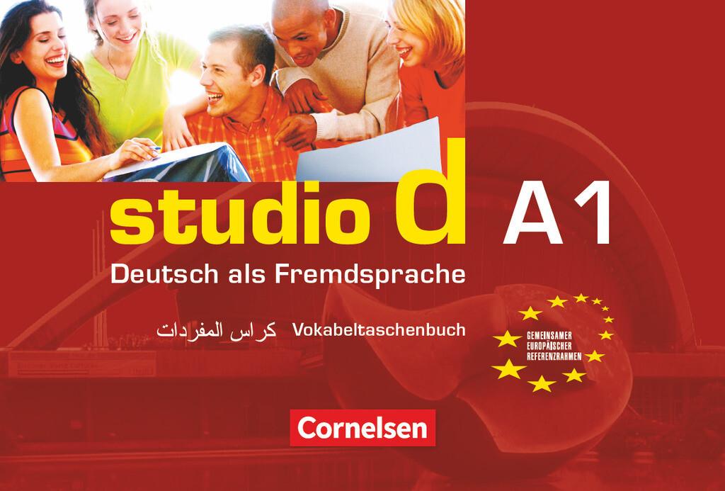 studio d. Gesamtband 1. Vokabeltaschenbuch Deutsch - Arabisch als Buch