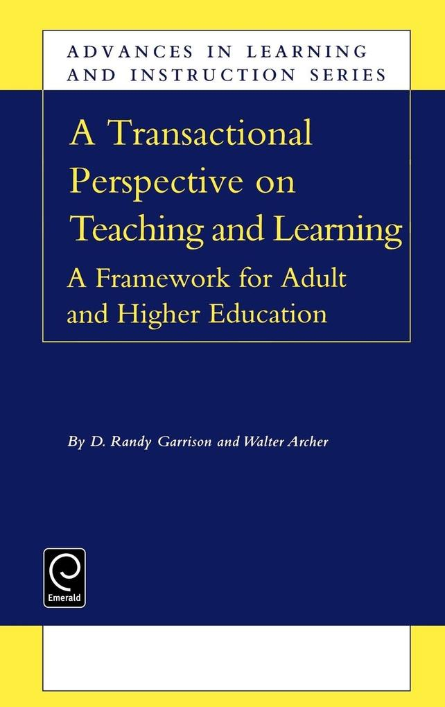 A Transactional Perspective on Teaching and Learning als Buch