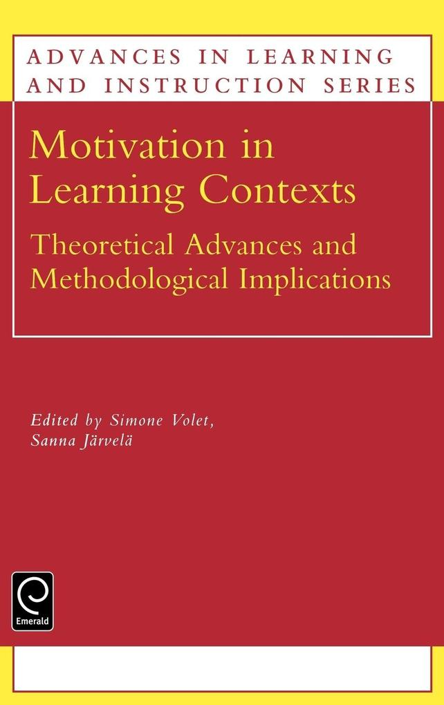 Motivation in Learning Contexts als Buch