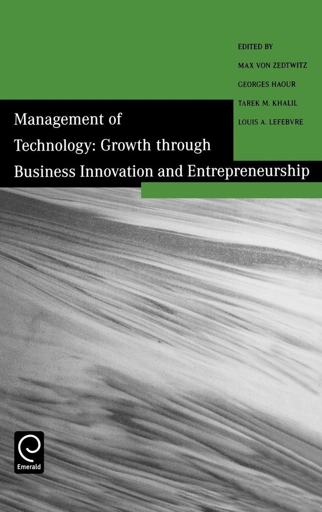 Growth Through Business Innovation and Entrepreneurship als Buch