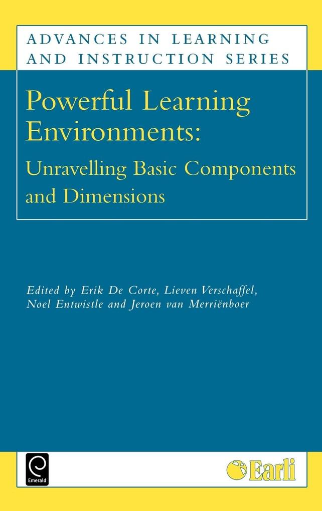 Powerful Learning Environments als Buch