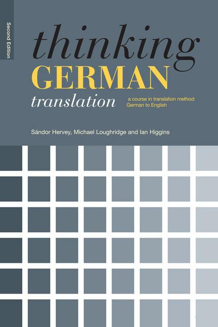 Thinking German Translation als Buch