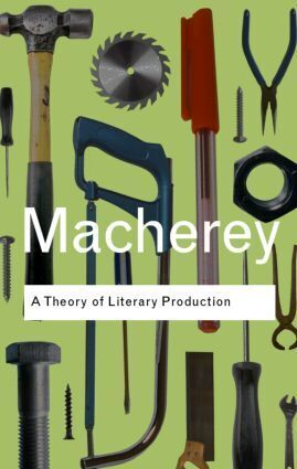 A Theory of Literary Production als Buch