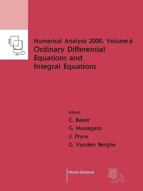 Ordinary Differential Equations and Integral Equations als Taschenbuch