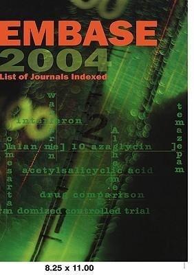 Embase List of Journals Indexed 2004 als Taschenbuch