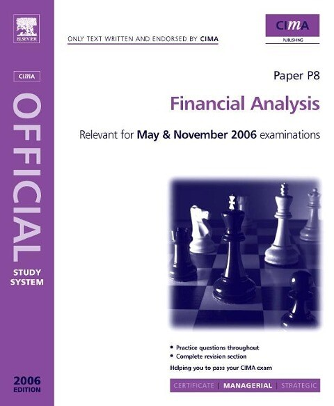 Cima Study Systems 2006: Financial Analysis als Buch