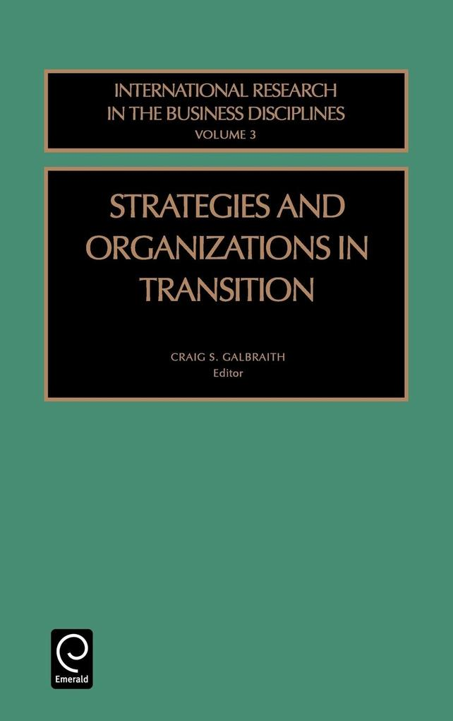 Strategies and Organizations in Transition als Buch