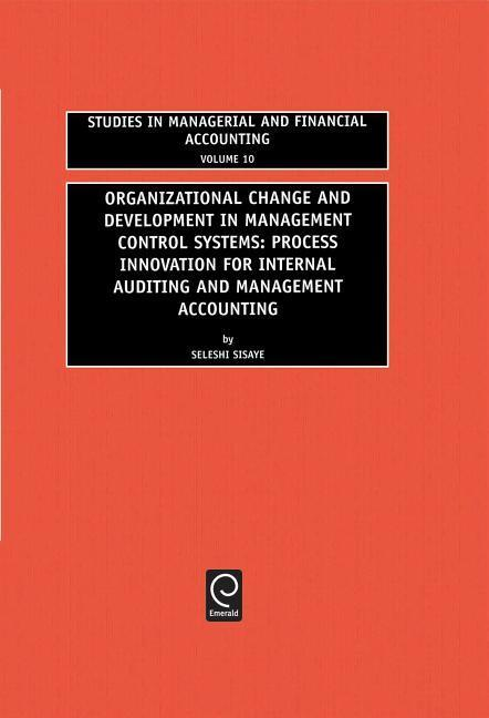 Organizational Change and Development in Management Control Systems als Buch