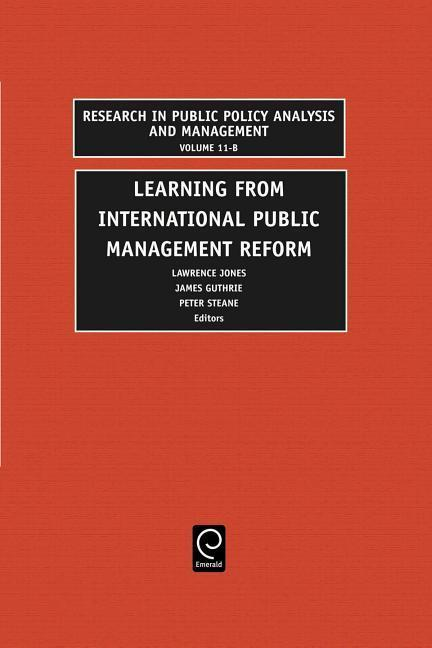 Learning from International Public Management Reform als Buch