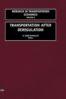 Transportation After Deregulation als Buch