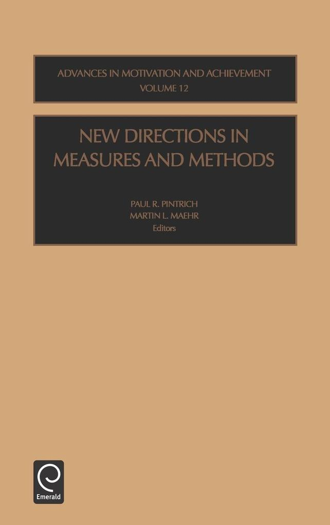 New Directions in Measures and Methods als Buch