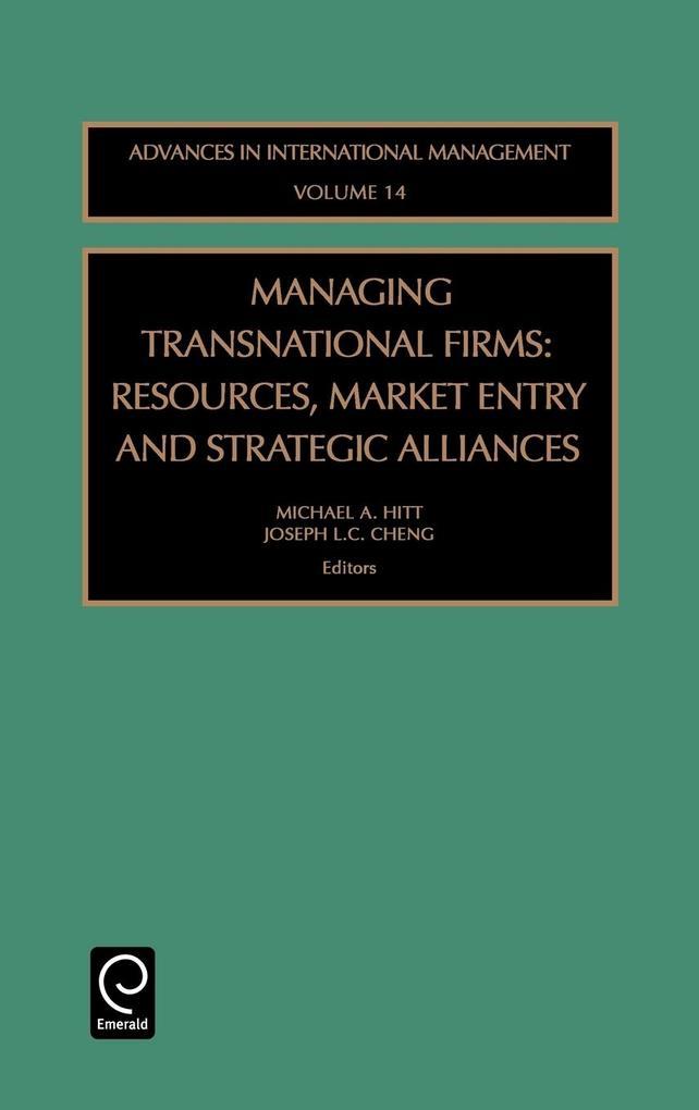 Managing Transnational Firms als Buch von