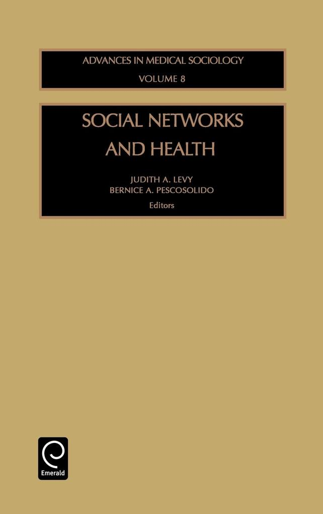 Social Networks and Health als Buch
