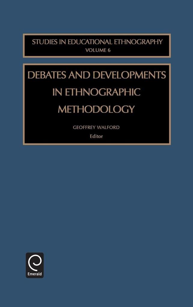 Debates Devel Ethno Meth See6h als Buch