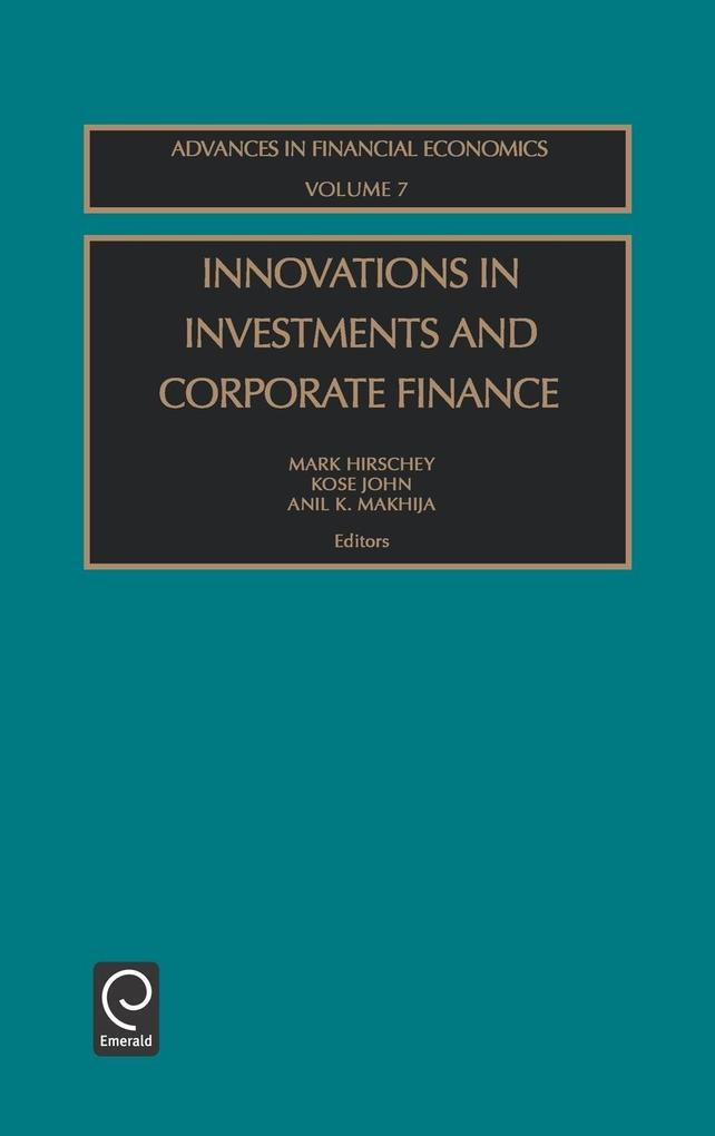 Innovations Invest Corp Fin Afec7h als Buch