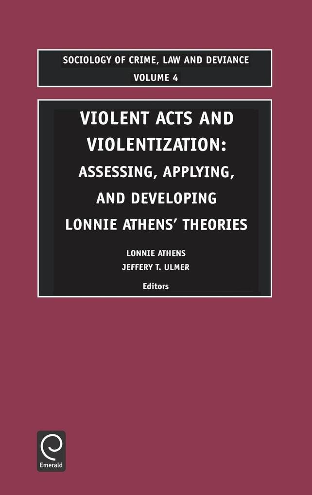 Violent Acts and Violentization als Buch