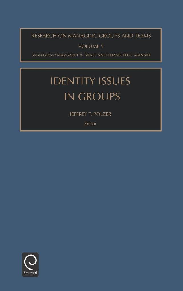 Identity Issues in Groups Rmgt5h als Buch