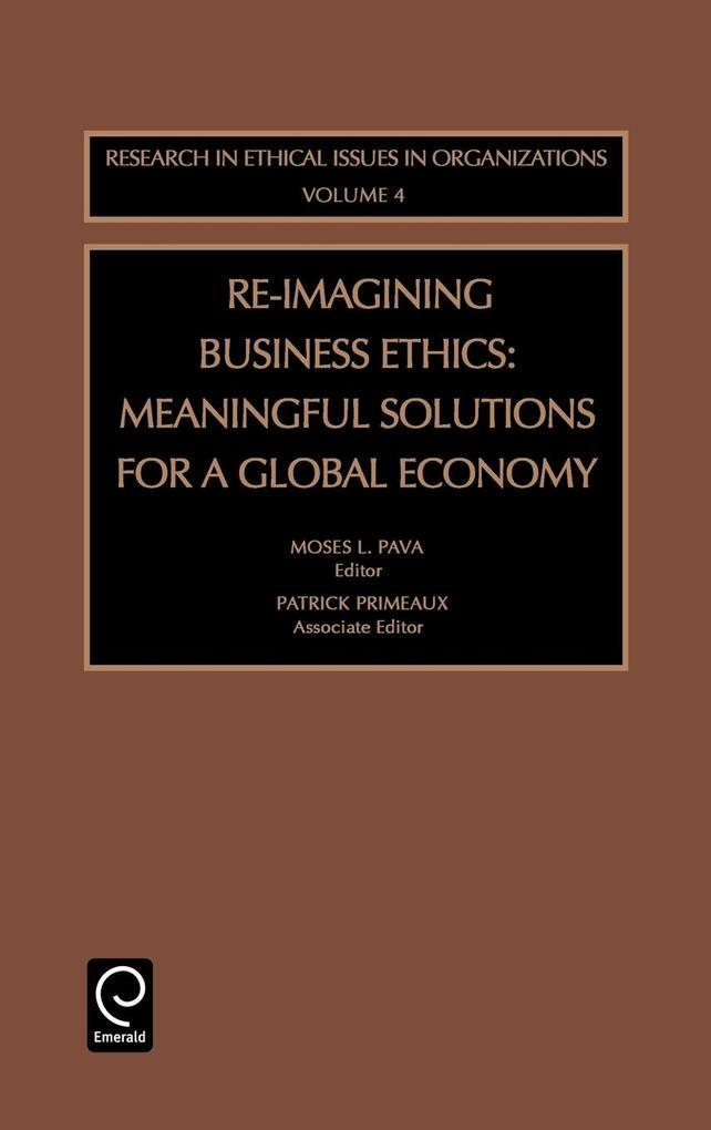 Re-Imagining Business Ethics als Buch