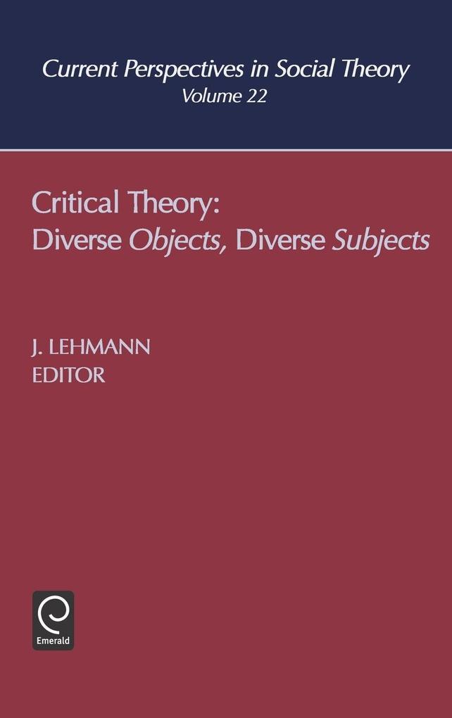 Critical Theory als Buch