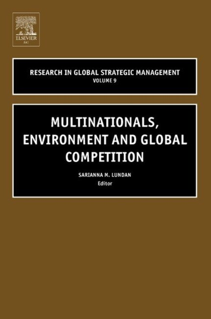Multinationals, Environment and Global Competition als Buch