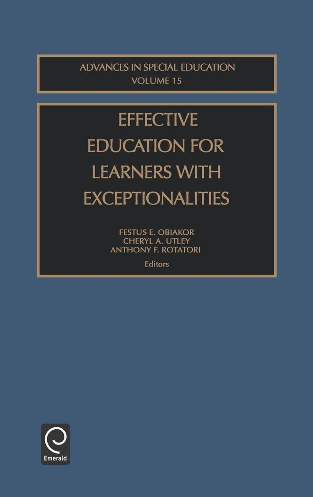 Effect Edu Learn Exception Ased15h als Buch